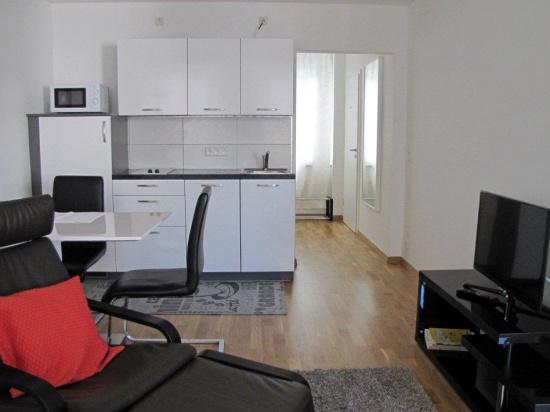 Helles Appartement in der Mathias-Iven-Straße in Saarbrücken 2.OG (wtl. Reinigung inkl.)